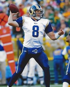 SAM BRADFORD 8X10 PHOTO ST LOUIS RAMS PICTURE NFL FOOTBALL BACK TO PASS