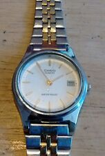 Vintage Casio Datejust ladies watch, running with new battery NR H