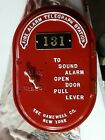 Antique 1920's Oval Gamewell Fire Alarm Telegraph Box. Works!!