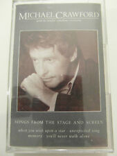Michael Crawford - Songs From The Stage & Screen Album Cassette Tape, Very good