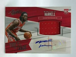 Montrezl Harrell 2015-16 Absolute Tools Of The Trade Materials Auto RC /99