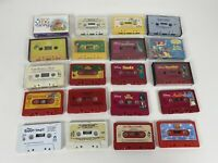 Lot Of 20 Disney Read Sing Along Audio Cassette Tape Lion King Fox & The Hound +