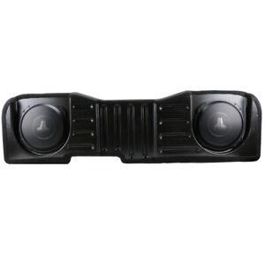 JL Audio SB-GM-SLVCC3/10TW3/BK2 Stealthbox '14-18 Chevrolet Silverado GMC Sierra