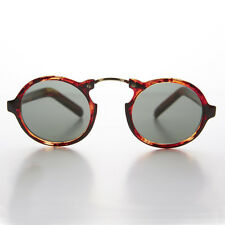 Round Aviator Great Gatsby Vintage Sunglass with Arched Bridge Multi- Grant
