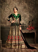 Indian salwar kameez Anarkali Suit Designer Bollywood Ethnic wedding dress 1