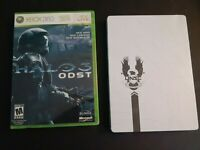 Lot of 3 Microsoft XBOX 360 Game - Halo 3 & Halo 4 Limited Edition Steelbook