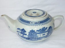 Chinese Blue and White Porcelain Teapot - Marks