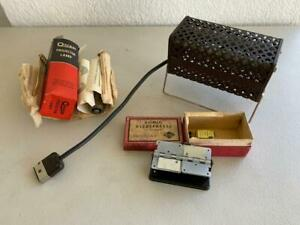 EUMIG PHOTOGRAPHY PARTS / ACCESSORIES KLEBEPRESSE FILM SPLICER , PROJECTOR LAMP