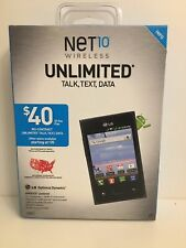 Net10 Wireless LG Optimus Dynamic No Contract Android,talk,text,data Touchscreen