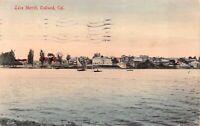 Hand Colored Postcard Lake Merritt in Oakland, California~126961