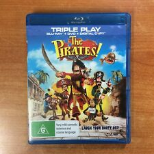 The Pirates! Band of Misfits - Triple Play - Blu-ray - Excellent Condition