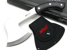 "Mtech Black 11"" Survival Hatchet Camping Axe + Nylon Sheath Mt-Axe9 New!"
