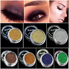 4Pcs/Set Pro Makeup Loose Powder Glitter Eyeshadow Beauty Eye Shadow Pigment