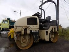 2004 Ingersoll Rand DD24 Asphalt Roller/ Smooth Drum / Vibratory / Kubota Diesel