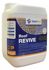 Moss Killer/Remover for Roofs Fast Acting, Easy Application, Concentrated 5 Ltr