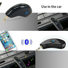 Bluetooth Wireless Audio Receiver Car Handsfree 3.5mm AUX Stereo Music Adapter M