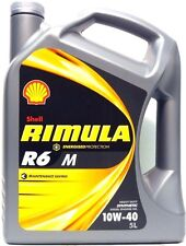 SHELL RIMULA R6 M 10W-40 4L - ACEA E4,E7, Volvo, Man, MB, Cummins, Deutz, Mack