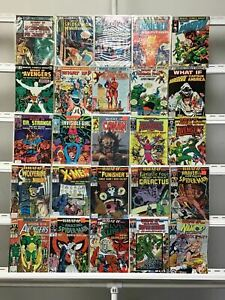 What If... Marvel  25 Lot Comic Book Comics Set Run Collection Box