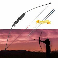 Archery Bow and Arrow set Bow Kit with 2 Arrows 15 Lb For Teens Child Outdoor