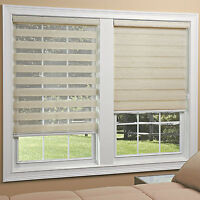 Light Filtering Sheer Roller Shades - 2 Colors - Free Shipping