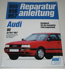 Reparaturanleitung Audi 90 / 2,0 / 2,3 + Quattro 5 Zylinder Typ 89 B3 ab 1987!