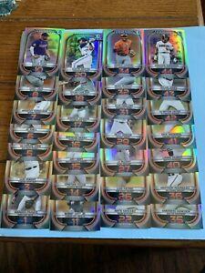 (57) Card Lot No Dupes! 2021 Bowman Scout's Top 100 chrome Partial Complete Set