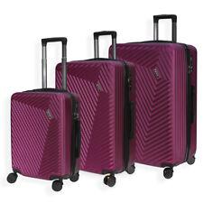 Lightweight 4 Wheel Hard Shell Luggage Suitcase Cabin Travel Bag TSA Lock- LC015