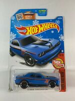 Hot Wheels - Target Snowflake Card - '15 Dodge Challenger SRT - 2015 - BOXED