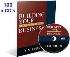 x100 Building Your Network Marketing Business Audio CD by Jim Rohn