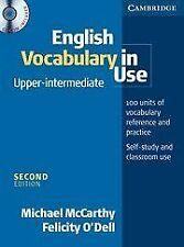 English Vocabulary in Use Upper - intermediate + CD von ... | Buch | Zustand gut