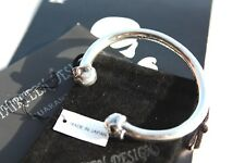 NWT! JAPAN #1 AUTH THIRTEEN DESIGNS 925 SILVER SKULL TWO FACE BANGLE Bracelets