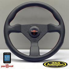 Nardi Personal NEO GRINTA Steering Wheel Black Leather 330mm 6497.33.2090