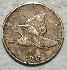 Extra Fine 1857 Flying Eagle Cent, Sharp specimen.
