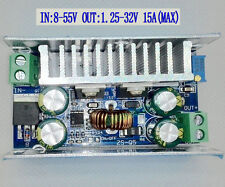 DC to DC 15A Adjustable Buck Converter Step-down Power Supply Module