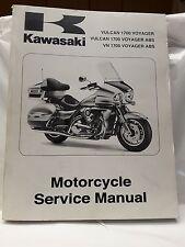 New OEM Kawasaki Service Manual 2009 VN1700 Vulcan Voyager ABS 99924-1413-01
