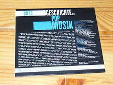 GESCHICHTE DER POP MUSIK - V.A. CD-15 / BEAR-FAMILY-CD 1998 IM CARDSLEAVE