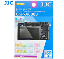 JJC GSP-A6000 GLASS LCD Screen Protector Film for SONY A6500 A6300 A6000 A5000