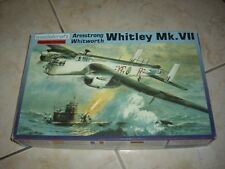 MODELCRAFT ARMSTRONG WHITWORTH WHITLEY MK.VII  PLASTIC MODEL 1/72