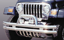 96-07 schwarz lackert Metall Stoßstange vorne Jeep Wrangler II Bj