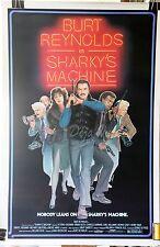 Sharky's Machine Original Movie Poster 1981 - NM