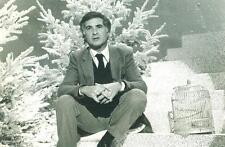 PHOTOGRAPHIE ORIGINALE ACTEUR Jean-CLAUDE BRIALY 1982 30 millions d'amis Noël
