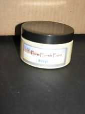 Pure Earth Paint, Antique & Vintage refinishing, 6 OZ Sample, Matte, Beryl yelow