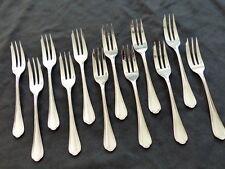 CHRISTOFLE SPATOURS set 12 Pastry Forks 12 fourchette à gâteaux Brilliant Luster