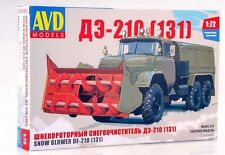 ZIL 131 DE-210 Unassembled Kit AVD Models by SSM 1:72