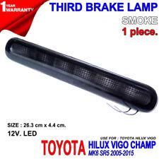 FOR TOYOTA HILUX VIGO MK6 SR5 05-15 KUN SMOKE LENS LED BRAKE TAIL GATE LIGHT 12V
