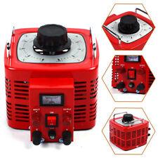 30amp Variac Transformer Variable Ac Voltage Regulator Metered 0130v Adjustable