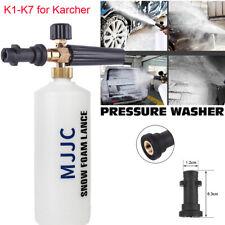 MJJC Snow Foam Lance K1-K7 Car Pressure Washers Sprayer Cannon Soap Bottles Gun