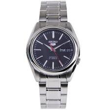 Seiko 5 Automatic 21 Jewels Hardlex Black Dial Gents Casual Watch SNKL45K SNKL45