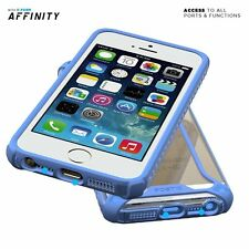 [30pieces/lot] Case For iPhone SE / 5S / 5 Poetic【Affinity】Soft Shock Proof Blue