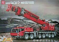 "Mould King ""17013"" GMK Crane ~ roter Kran mit RC ~ 4460 Teile ~ inkl. OVP ~ Neu"